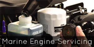 Marine Engine Servicing